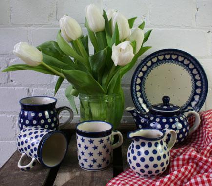 New Blue Pottery